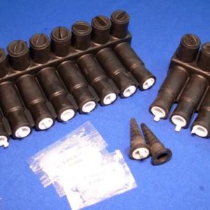 Conectores múltiples ILSCO (PED) (Pulpos)