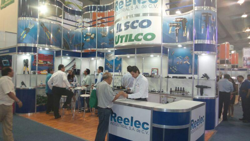 Reelec en la Expo Eléctrica 2014